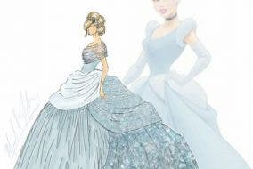 Disney Princess Modern Gown Michael Anthony Designer