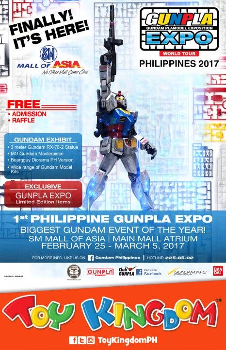 Gunpla Expo flyer