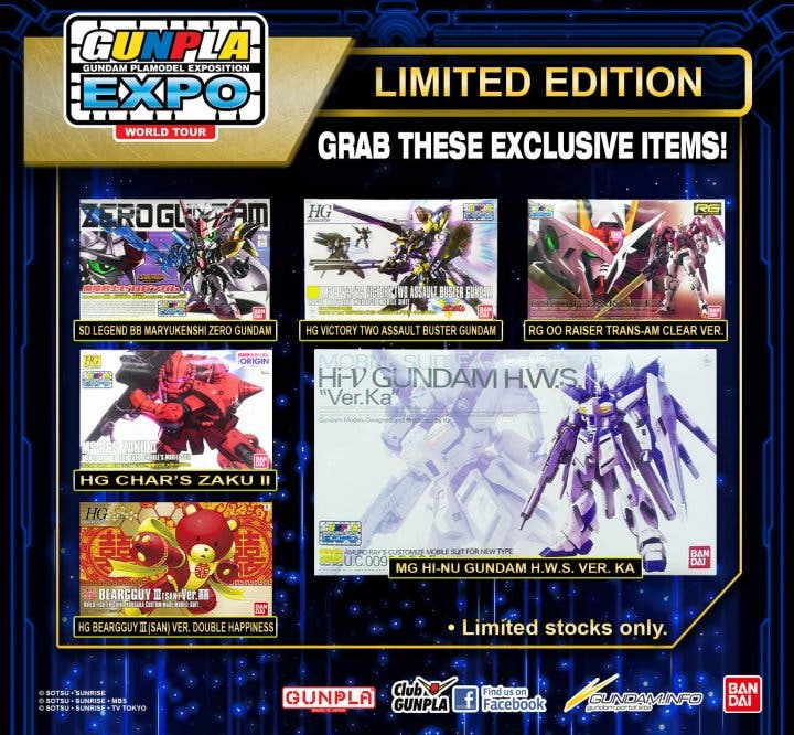 Gunpla Expo limited edition