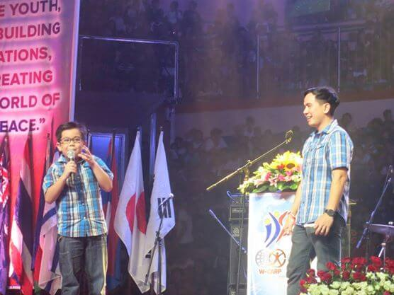 My son, Patrick Gabriel, achieved his goal of being the Philippines' youngest motivational speaker