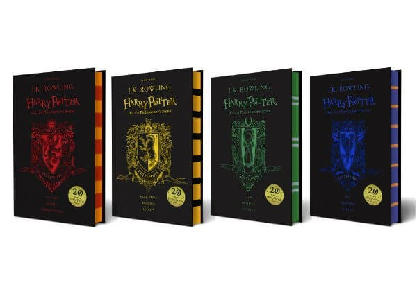LOOK- There's a 20th Anniversary Edition of Harry Potter and the Philosopher's Stone