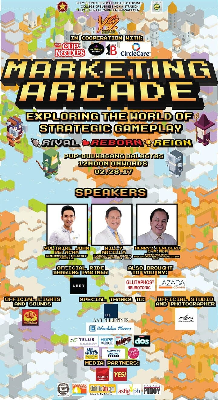 Marketing Arcade 2017 Official Poster