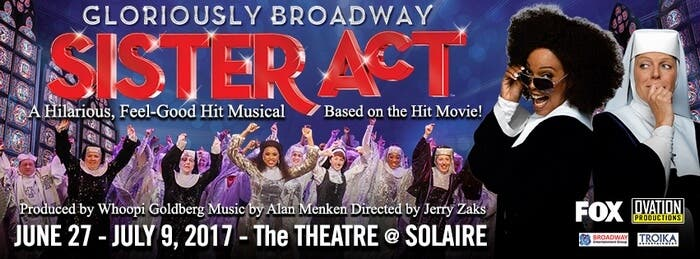 SISTER ACT OVATION FACEBOOK