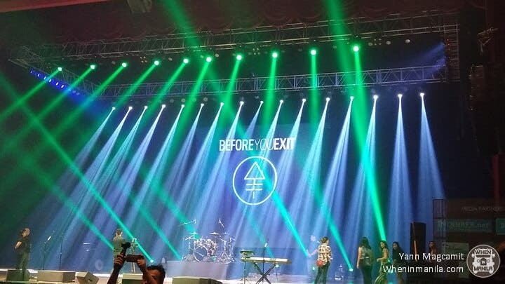 before you exit in manila 2017