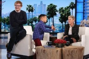 ed sheeran the ellen show