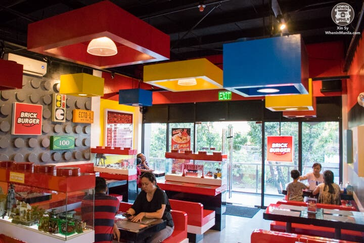 Brick Burger: The First Lego-Themed Restaurant In The Philippines ...