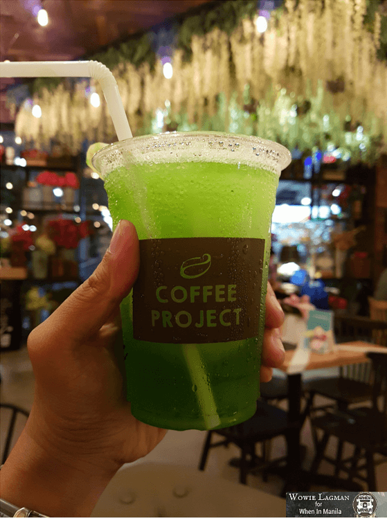 Coffee green slush