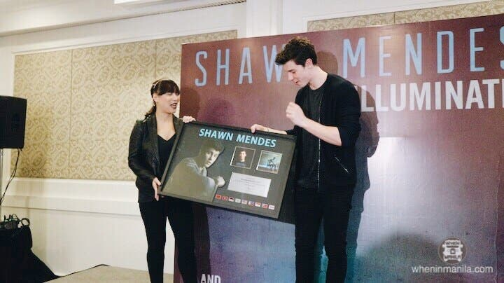 LOOK: Shawn Mendes Answers Questions in Presscon