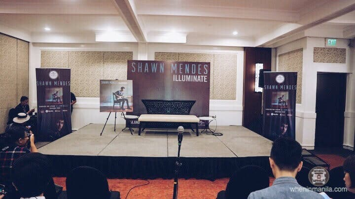 LOOK: Shawn Mendes' Answers Questions at Manila Presscon