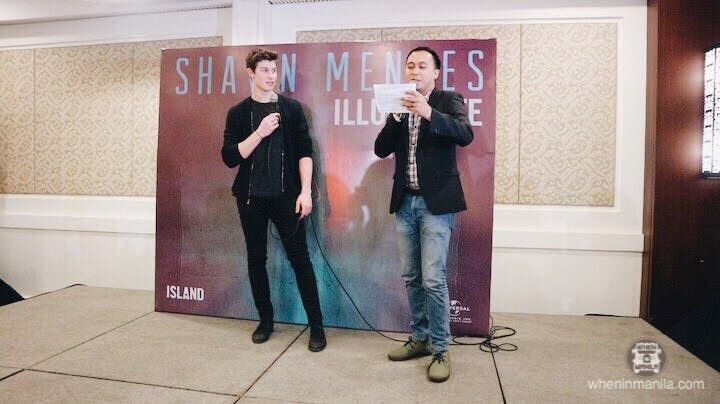 LOOK: Shawn Mendes Answers Questions at Manila Presscon