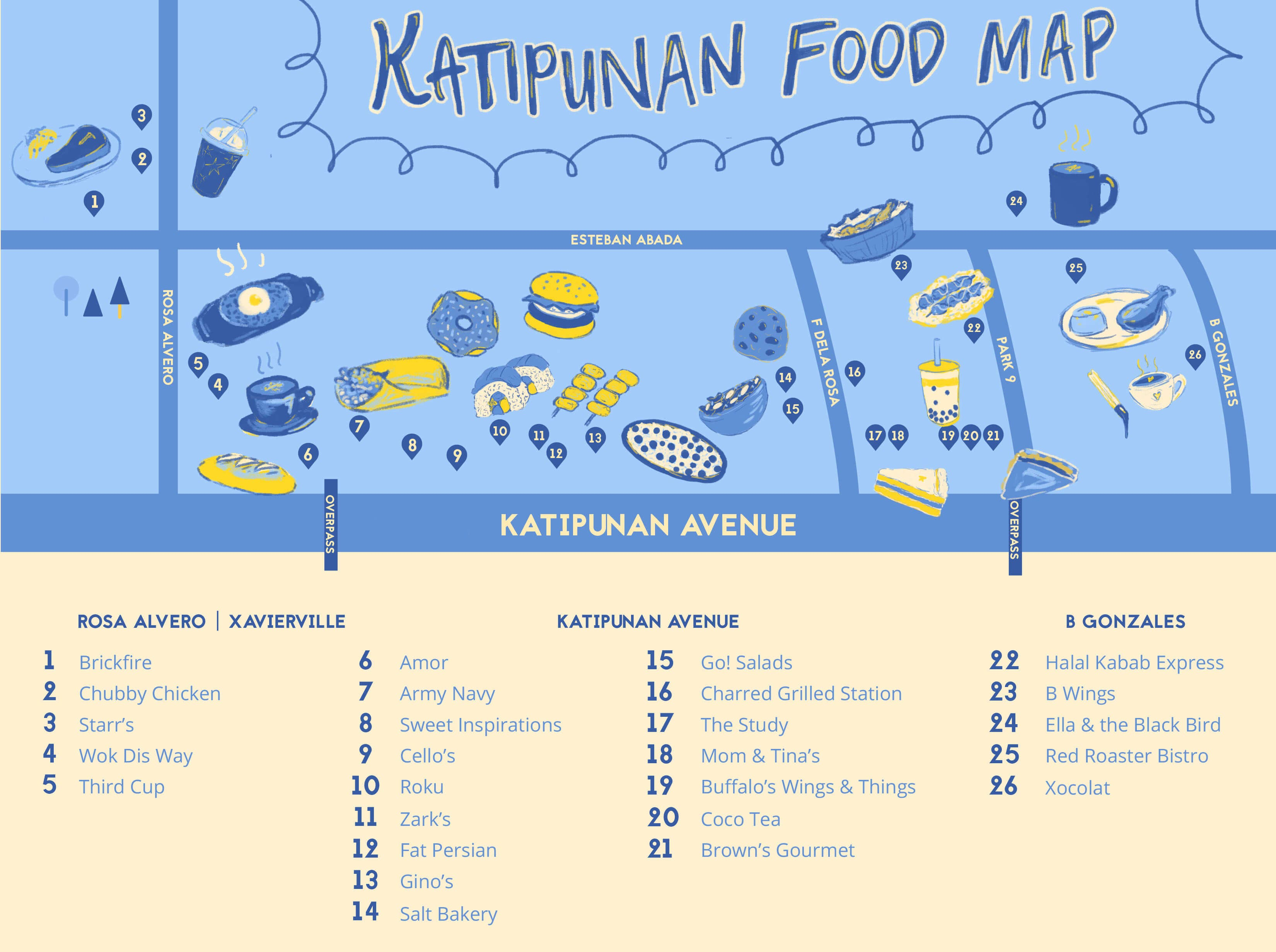 b661c4a1 Katipunan Food Map: 26 Restaurants Sure to Satisfy your Hunger in ...