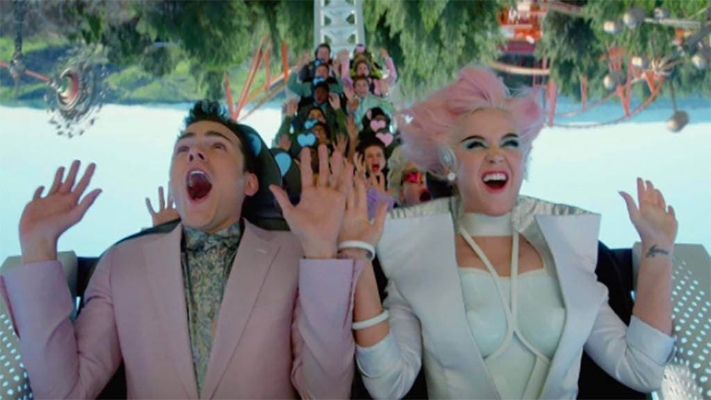 Katy Perry's New Music Video Might Make You Want to Visit an Amusement Park RN