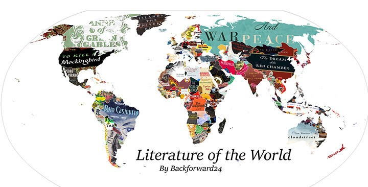 LOOK- Someone Made a Literature Map and it is Glorious