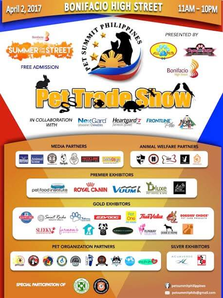 Pet Summit Philippines 2017 Poster