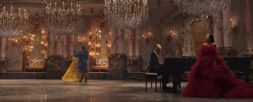 WATCH- Ariana Grande and John Legend Perform Beauty and the Beast in Music Video!