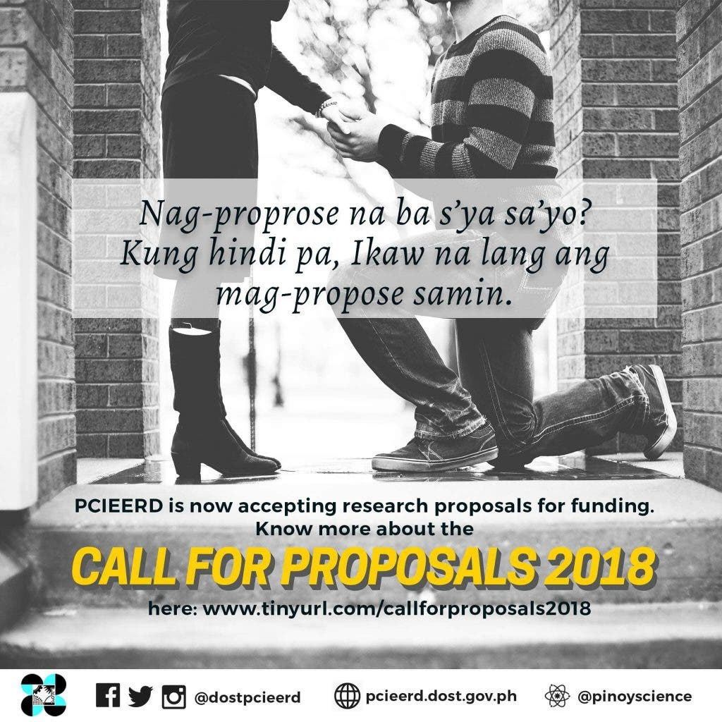 dost call for proposal
