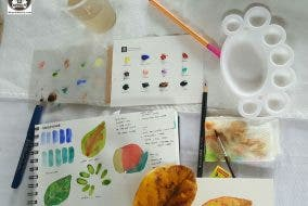 Anina Rubio: A Basic Watercolour and Illustration Workshop by Planners Manila