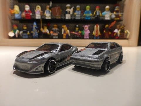 Hot Wheels Then and Now