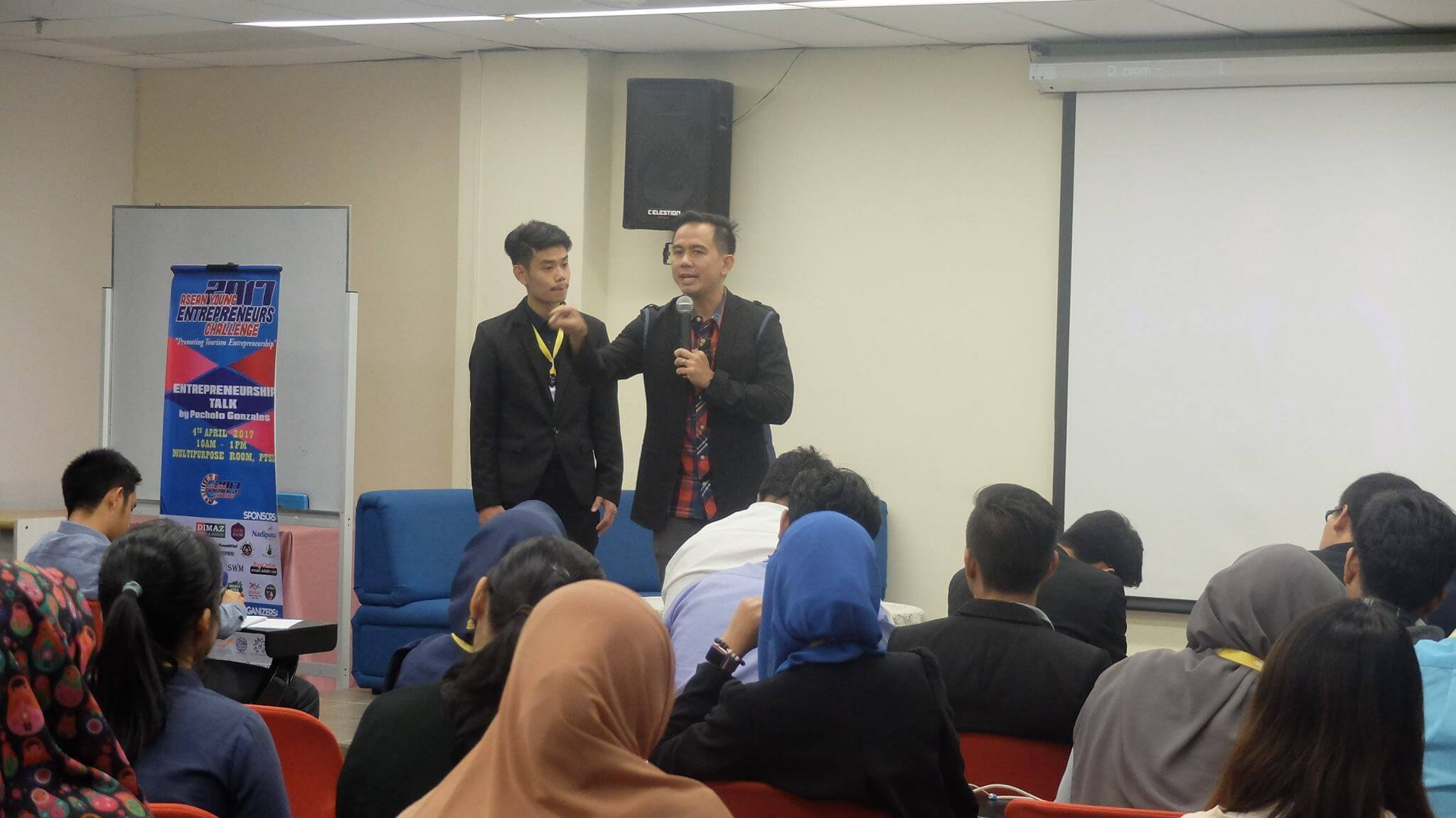 My talk at the ASEAN Young Entrepreneurs Challenge in Malaysia