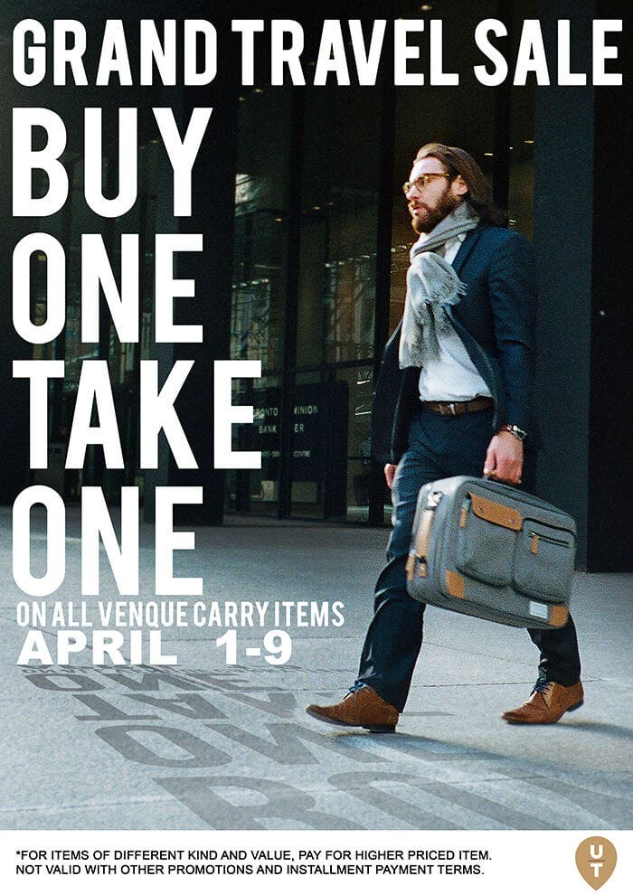 Up #YourEveryDayCarry Game with Urban Traveller & Co's Buy 1 Carry 1 Promo 2
