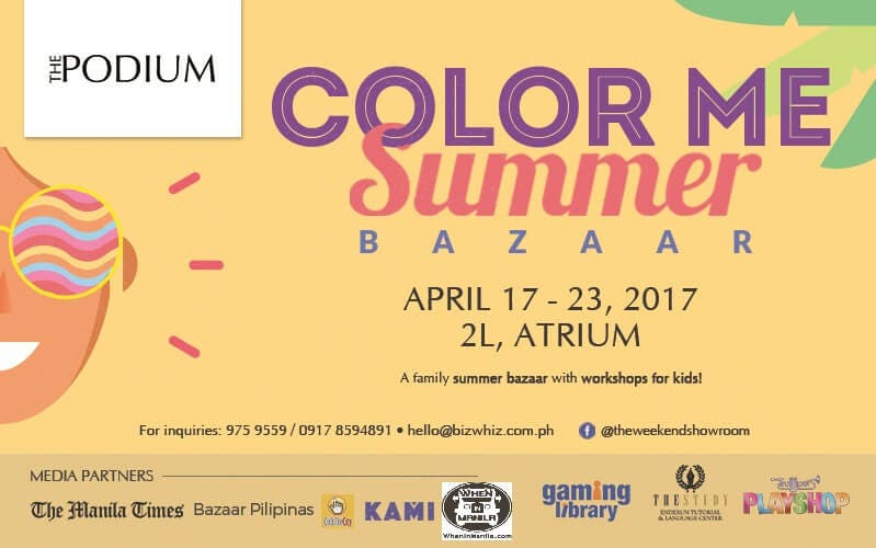 WIM - Color Me Summer Bazaar