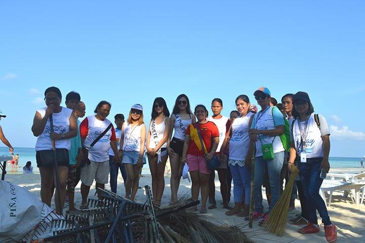 Silka Cleans Up Boracay After Laboracay 3