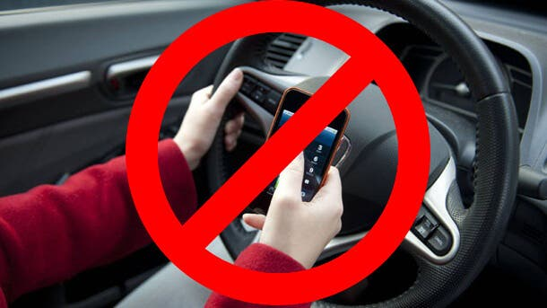 Using Your Mobile Phone While Driving is Now Banned in The