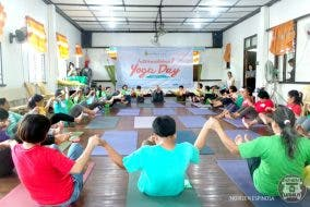Certified Calm International Yoga Day The Sanctuary Village