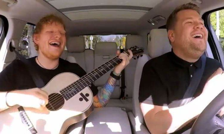 Ed Sheeran James Corden Carpool Karaoke