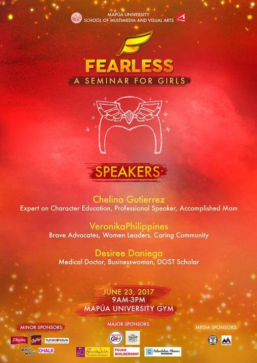 Fearless Speakers Poster official