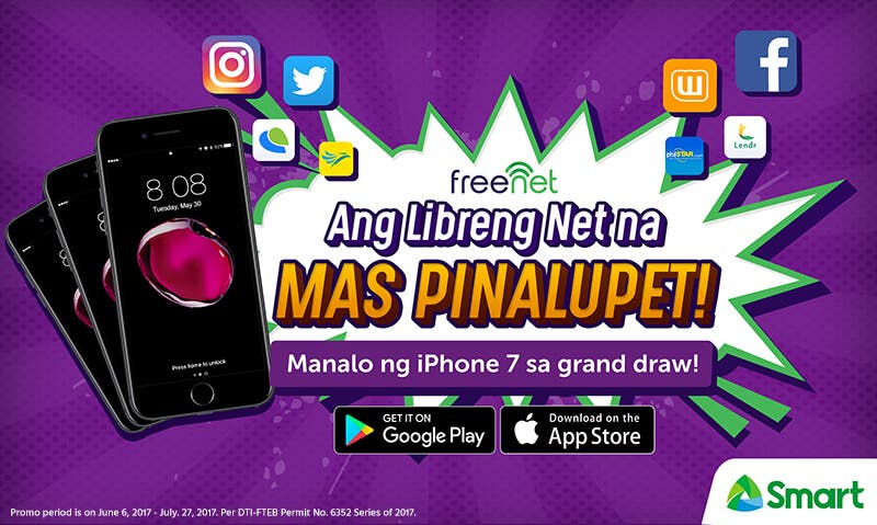 Go online for free and get rewarded with mas pinalupet na prizes