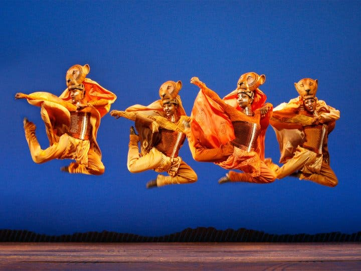 Lionesses - THE LION KING - Photo by Joan Marcus © Disney