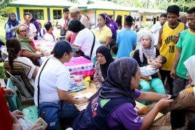 ARMM Bureau of Public information - evacuation center in Lanao del sur