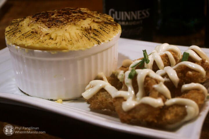 Finnians Food Shepherds Pie