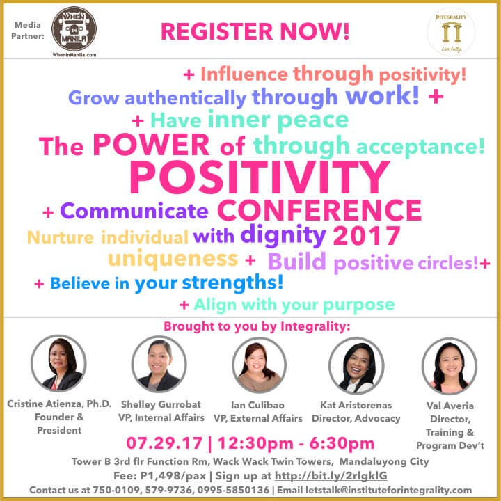 Positivity Conference 2017 - Poster - When In Manila .001