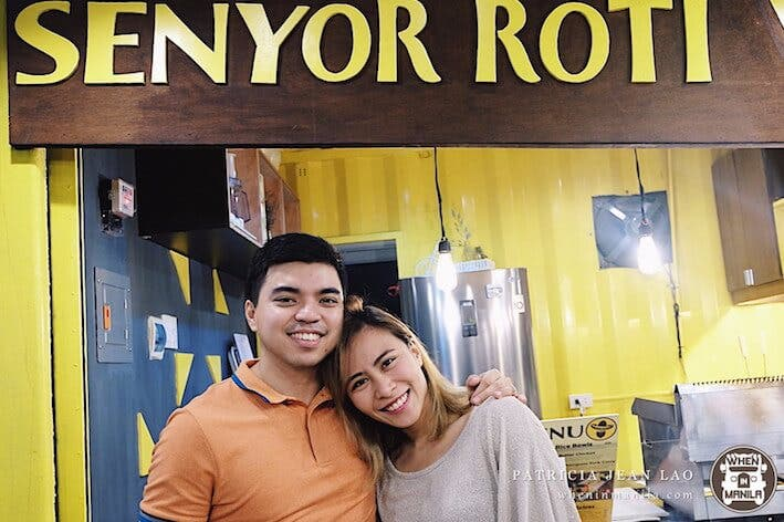 LOOK: This couple quit their corporate jobs & started their dream food stall – SENYOR ROTI!
