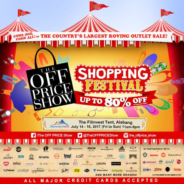 Shopping Festival Filinvest_When in Manila poster