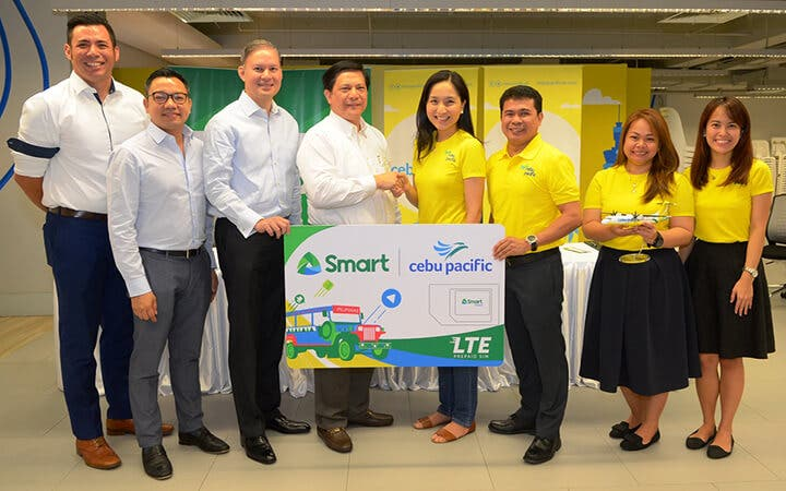 Smart and Cebu Pacific Partnership