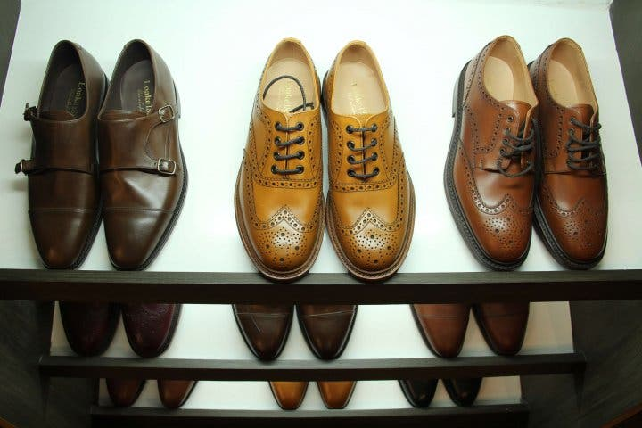 Spectre Loake leather shoes