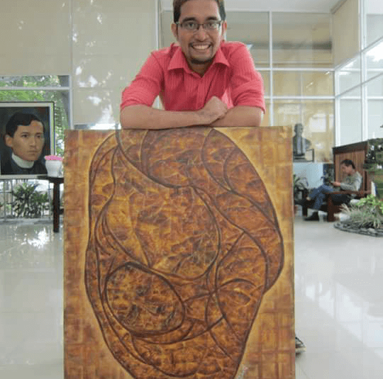 Paintings for Marawi Yel Cast Leaf Painter