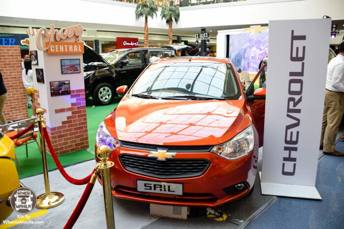 Interactive automotive experiences for shoppers through SM and Chevrolet team up