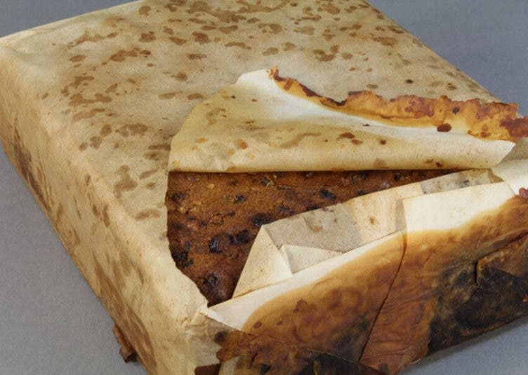 100-year old fruitcake