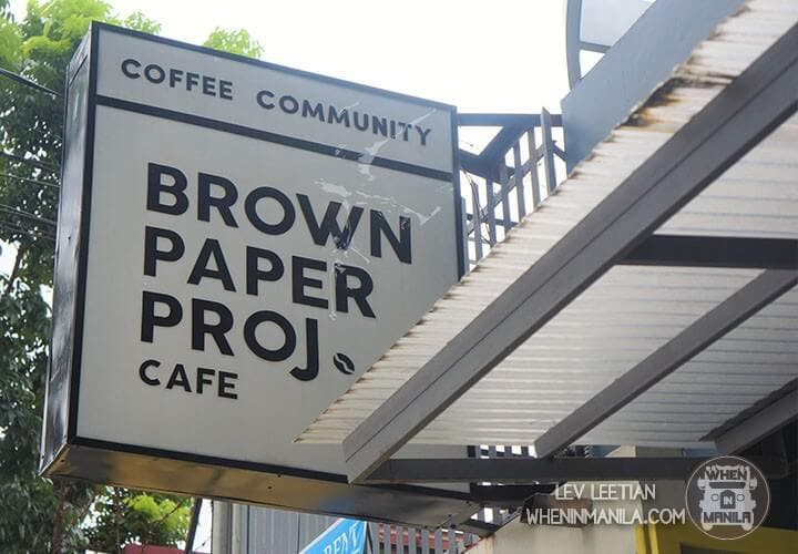 Brown Paper Project: A Dream for Coffee Lovers in Katipunan