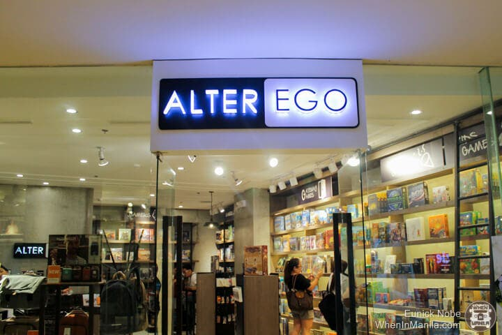 Alter Ego Board Games at Shangri-La
