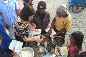 Gina Lopez Feeding Program, how it started in 2017 in Roxas Blvd Manila