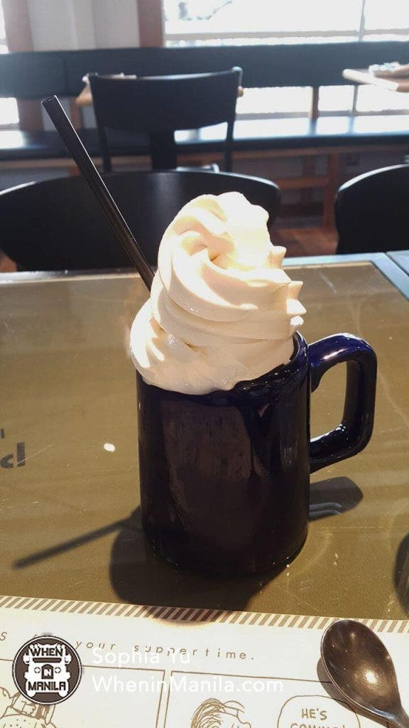 Peanuts Cafe- Rootbeer Float