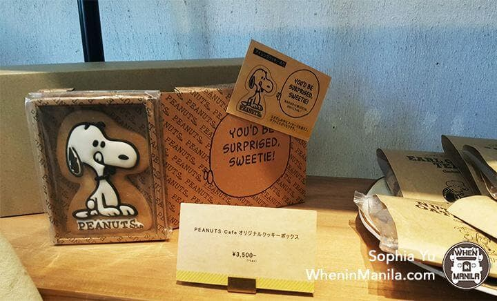 Peanuts Cafe- Snoopy Cookie