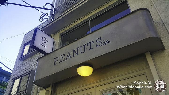 Peanuts Cafe-sign