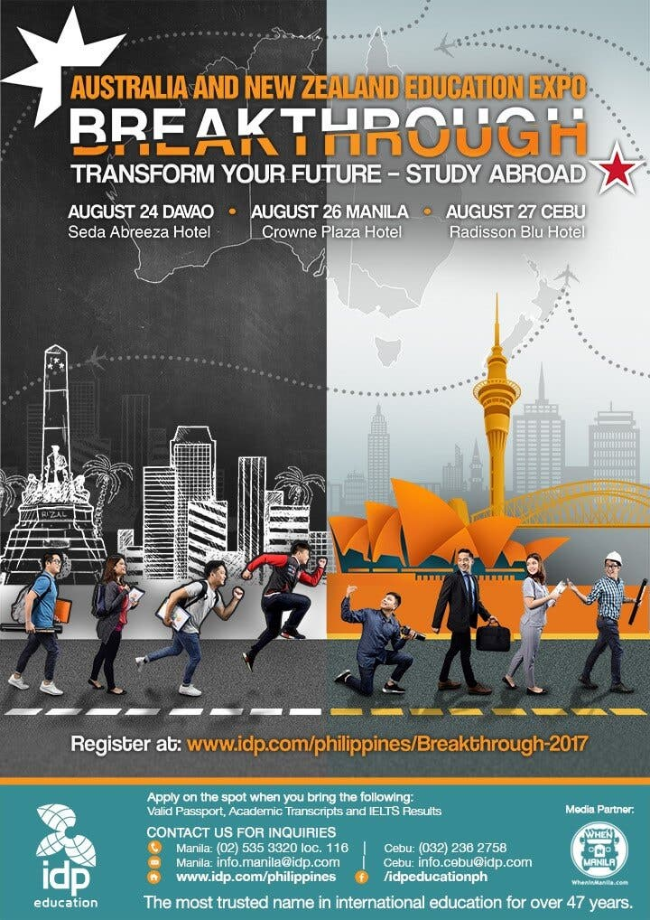 Breakthrough: Study Abroad and Transform Your Future - When In Manila