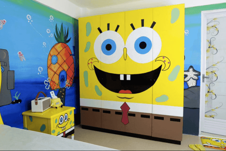 Kiray Celis Spongebob Room